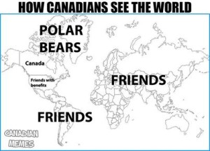 How canadians see the world
